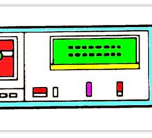 retro tape deck Sticker