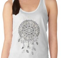 Mandala dreamcatcher, attrape rêve Women's Tank Top