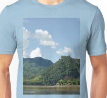 an awe-inspiring Laos landscape Unisex T-Shirt