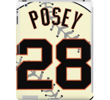 Buster Posey Baseball Design iPad Case/Skin