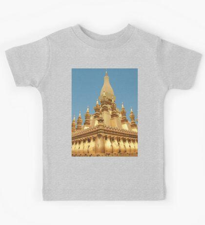 a sprawling Laos landscape Kids Tee