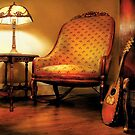 Music - The chair and the lute by Mike  Savad