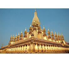 a sprawling Laos landscape Photographic Print