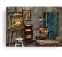 Painter - The Artists Studio Canvas Print