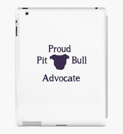 Pit Bull Advocate iPad Case/Skin
