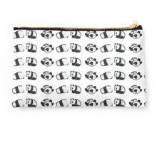 Tumbling Panda Bears (SET) Studio Pouch