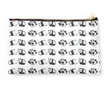 Tumbling Panda Bears (SET) Studio Pouch
