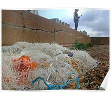 fishnets - hythe kent Poster