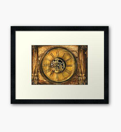 Clockmaker - Clock Works Framed Print