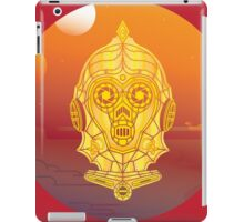 Steampunk C-3PO iPad Case/Skin