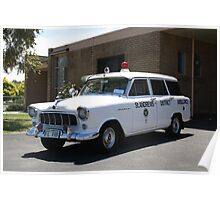 Holden FE Ambulance Poster