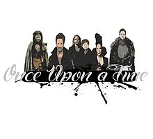 Once upon a time Fan Art Photographic Print