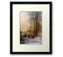 Christmas Eve in the Snow Framed Print