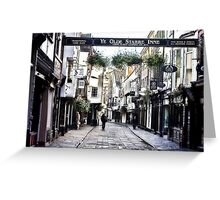 Stonegate - York Greeting Card