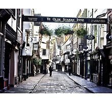 Stonegate - York Photographic Print