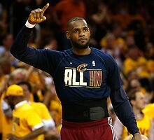 Lebron James - The King by RajEscobar