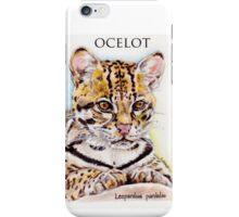 Ocelot: Leopardus pardalis iPhone Case/Skin