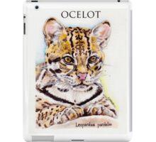 Ocelot: Leopardus pardalis iPad Case/Skin
