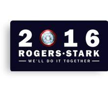 Rogers/Stark Presidential Running Team Canvas Print