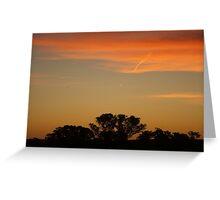 Australian Sunset.10 Greeting Card
