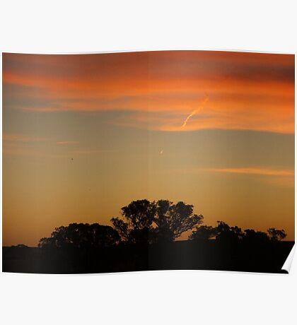 Australian Sunset.10 Poster