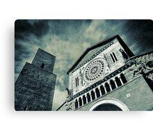 Church of San Pietro - Tuscania Canvas Print