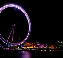 """The Eye Of London's Night Life"" by Bradley Shawn  Rabon"