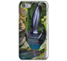 Corkscrew Falls in Ohio iPhone Case/Skin