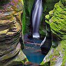 Corkscrew Falls in Ohio by Kenneth Keifer