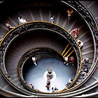 Vatican&#x27;s stairs by Jean  Malnory