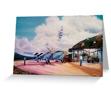 Mossie Fighter, in France '44 Greeting Card