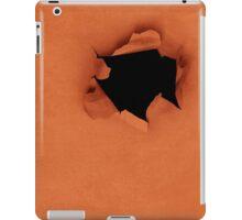 holy sheet (orange) iPad Case/Skin