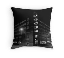 Parked Throw Pillow