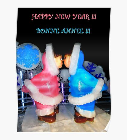 Happy New Year ~ Bonne Annee Poster
