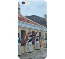 an incredible Netherlands Antilles landscape iPhone Case/Skin
