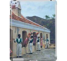 an incredible Netherlands Antilles landscape iPad Case/Skin