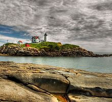 Cape Neddick Light  by JHRphotoART