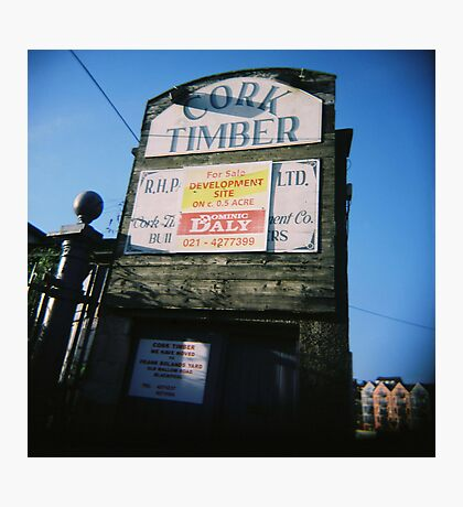 Timber!!!! Photographic Print