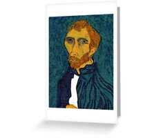 Vincent Van Doodled Greeting Card