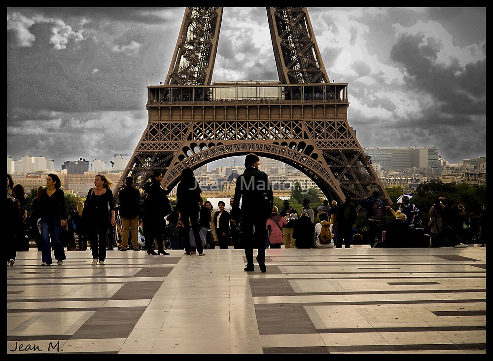 Eiffel composition by Jean  Malnory