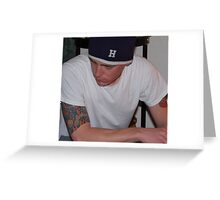 Chris #2 Greeting Card