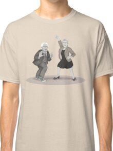 Disco Night with Bernie Sanders and Elizabeth Warren Classic T-Shirt