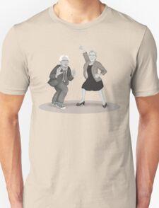 Disco Night with Bernie Sanders and Elizabeth Warren T-Shirt