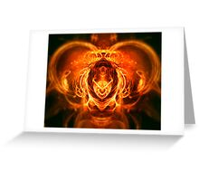 Spirit fire Greeting Card