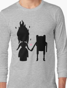 Finn and the Flame Princess Long Sleeve T-Shirt