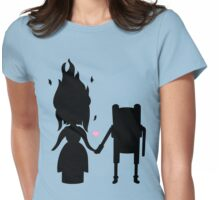 Finn and the Flame Princess Womens Fitted T-Shirt
