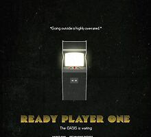 Ready Player One - Film Poster by CageTheSongBird