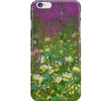 Great Lotus Meadow iPhone Case/Skin