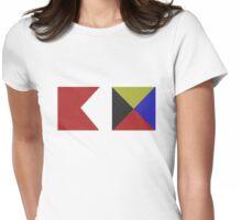 Bravo Zulu Womens Fitted T-Shirt