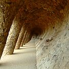 Feeling drunk in Parc Güell by Themis